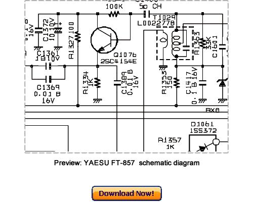 Pay for VERTEX YAESU FT-857, FT-857D (2005) Service Repair Manual Download