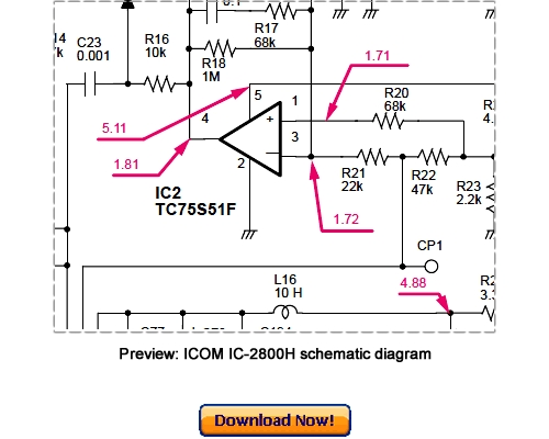 Pay for ICOM IC-2800H Service Repair Manual Download