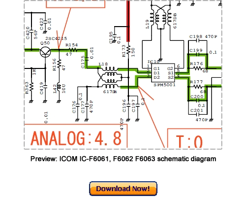 Free ICOM IC-F6061 IC-F6062 IC-F6063 Service Repair Manual Download Download thumbnail