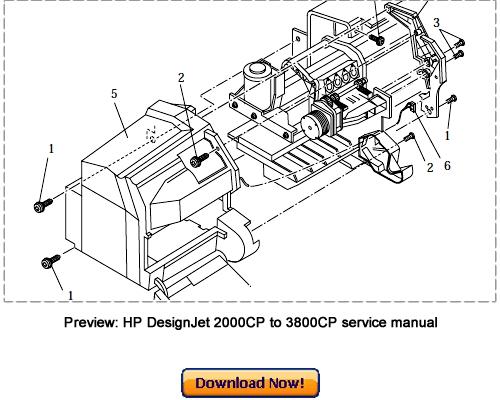 hp designjet 2000cp 2500cp 2800cp service repair manual download rh tradebit com hp designjet 500 service manual hp designjet 5000 service manual