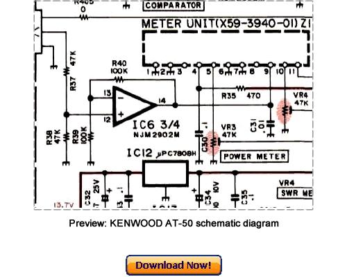 kenwood at-50 service repair manual pdf download