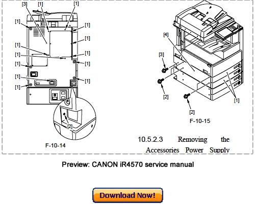 Pay for Canon iR4570 iR3570 iR2870 iR2270 Service Repair Manual Download