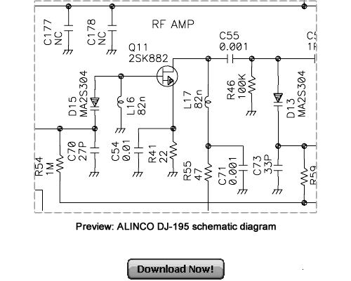 Pay for ALINCO DJ-195 Service Repair Manual Download