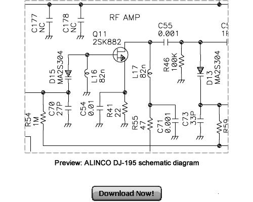 Pay for ALINCO DJ-195 Service Repair Manual Download