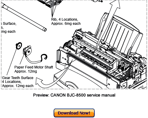 canon bjc-8500 service repair manual download