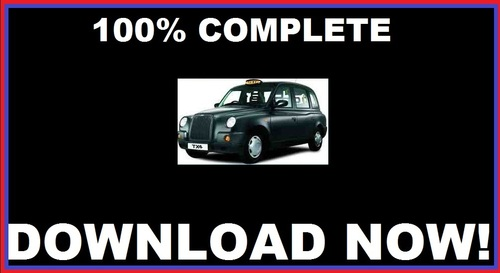 Taxi workshop service repair manual for lti tx1 tx2 tx4 download.