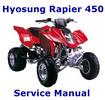 Thumbnail Hyosung Rapier 450 Service Manual