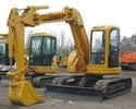 Komatsu PC75UU-2 Hydraulic Excavator Service Shop Manual