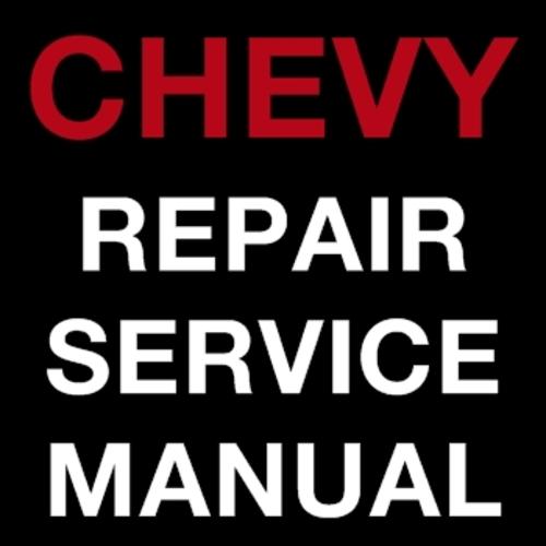 Service & repair manuals for chevrolet aveo | ebay.