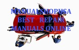 Thumbnail Isuzu Trooper Ux 2002 Service Manual