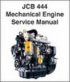 Thumbnail JCB 444 Mechanical Diesel Engine Service Repair Manual - SEARCHABLE & INDEXED - DOWNLOAD