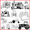 Thumbnail Massey-Ferguson MF Model 406 Tractor Shop Workshop Repair Manual - DOWNLOAD