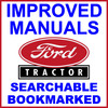 Thumbnail Ford 5550 Agricultural Tractor Repair Workshop Service Manual 1965-1975 - IMPROVED - DOWNLOAD