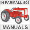 Thumbnail Farmall IH International 504 Tractor Operators Owner Manual & Repair -2- MANUALS - DOWNLOAD