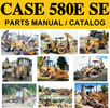 Thumbnail Case 580E & 580 Super E Tractor Loader Backhoe Parts Manual Catalog - DOWNLOAD