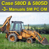 Thumbnail Case 580D & 580 Super D TLB Service, Operator & Parts Manual -3- Manuals - DOWNLOAD