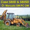 Thumbnail Case 580D & 580 Super D TLB Service, Operator & Parts Manual -3- Manuals - DOWNLOAD