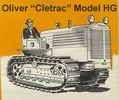 Thumbnail Oliver Cletrac HG Tractor Instruction Operators Maintenance Manual - DOWNLOAD