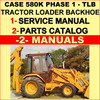 Thumbnail CASE 580K Prior to JJG0020000 PHASE 1 Tractor TLB Service Manual & Parts Catalog -2- MANUALS - DOWNLOAD