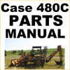 Thumbnail Case 480C Tractor Backhoe Loader Illustrated Parts Manual Catalog - DOWNLOAD