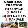 Thumbnail Case 580C TLB Tractor SERVICE Manual, OWNERS & PARTS Catalog -3- MANUALS - DOWNLOAD