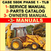 Thumbnail CASE 580K PHASE 1 Tractor TLB SERVICE & OPERATORS Manual & PARTS Catalog -3- MANUALS - DOWNLOAD