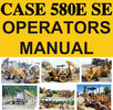 Thumbnail Case 580E 580SE Tractor Operators Owner Instruction Manual - DOWNLOAD