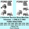 Thumbnail Ford 10 Series 2610 3610 4110 4610 5610 6610 6710 7610 7710 Tractor Service Manuals 2 Vols - DOWNLOAD