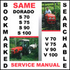 Thumbnail Same Dorado S V 70 75 90 100 Tractor Workshop Service Repair Manual - DOWNLOAD