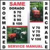 Thumbnail Same Dorado S V 70 75 90 100 Tractor Workshop Service Repair Manual - DOWNLOAD
