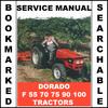 Thumbnail Same Dorado F 55 70 75 90 100 Tractor Workshop Service Repair Manual - IMPROVED - DOWNLOAD