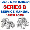 Thumbnail Ford New Holland S Series Tractor Service Repair IMPROVED Manual - 1492 PAGES - DOWNLOAD