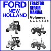 Thumbnail Ford New Holland 10 & 30 Series 2600-8210 Tractor 6 Volumes Service Repair & Workshop Manual - DOWNLOAD