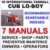 Thumbnail IH Farmall Cub Lo-Boy Tractor SERVICE, PARTS, OWNERS Manual -7- Manuals - IMPROVED - DOWNLOAD