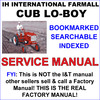 Thumbnail IH Farmall Cub & Cub Lo-Boy Tractor Service & Repair Manual - IMPROVED - DOWNLOAD