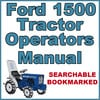 Thumbnail Ford New Holland 1500 Tractor Owners Operators Maintenance Manual - IMPROVED - DOWNLOAD
