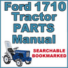 Thumbnail Ford 1710 Compact Tractor Illustrated Parts List Manual Catalog - IMPROVED - DOWNLOAD