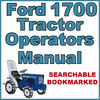 Thumbnail Ford New Holland 1700 Tractor Owners Operators Maintenance Manual - IMPROVED - DOWNLOAD