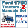 Thumbnail Ford 1700 Tractor Service Repair & Parts Catalog Manual -2- Manuals - IMPROVED - DOWNLOAD