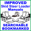 Thumbnail Collection of 2 files - Case 1840 Skid Steer Loader Repair Service Manual & Illustrated Parts Catalog - DOWNLOAD