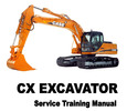 Thumbnail Case CX Excavator Service Training Manual - IMPROVED - DOWNLOAD