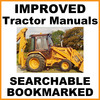 Thumbnail Collection of 3 files - Case 580B Hydrostatic Drive Repair Service Manual & Illustrated Parts Catalog & Operator Manuals - DOWNLOAD