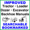 Thumbnail Collection of 2 files - Case 580 Super L Series 2 Backhoe Loader Operator Manual & Parts Catalog - DOWNLOAD