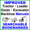 Thumbnail Case 320 Tractor Loader Backhoe Operators Owner Manual - IMPROVED - DOWNLOAD