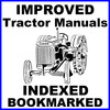 Thumbnail Collection of 2 files - Case D, DC, DCS, DO, DE Tractor FACTORY Repair Service Manual & Operators Manual - IMPROVED - DOWNLOAD