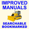 Thumbnail Collection of 2 files - Case 1850K Tier 2 Crawler Bulldozer Dozer  Service Repair Manual & Operators Instruction Manual - IMPROVED - DOWNLOAD