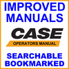 Thumbnail Case 584, 585 & 586 Hydrostatic Drive Forklift Operators Owner Instruction Manual - IMPROVED - DOWNLOAD