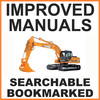 Thumbnail Collection of 2 files - Case CX210 & CX240 Excavator Service Training Manual & Operators Manual - IMPROVED - DOWNLOAD