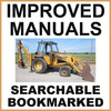 Thumbnail Collection of 2 files - Case 580F CK Loader Backhoe Operators Manual & Parts Catalog Manuals - IMPROVED - DOWNLOAD