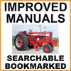 Thumbnail Case IH International 1256 Tractor Service Shop Manual - IMPROVED - DOWNLOAD